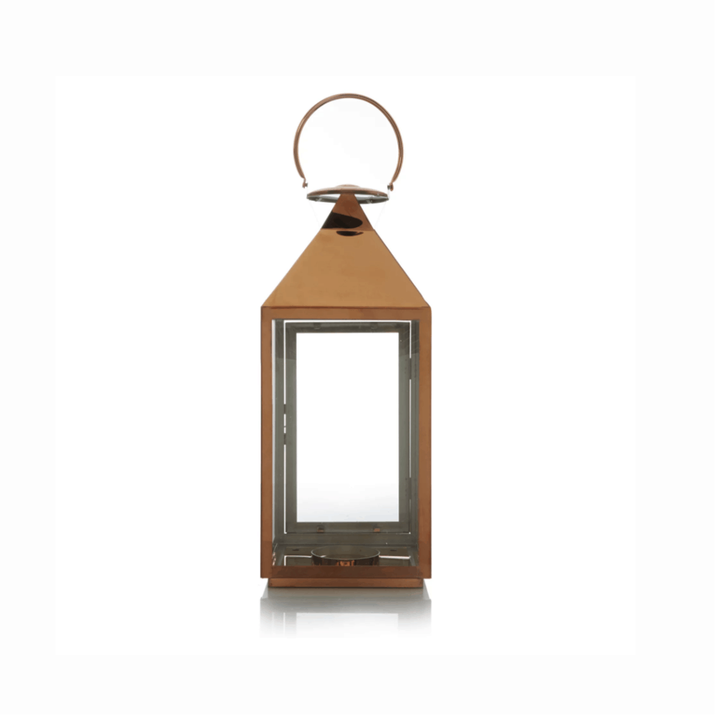 Large copper lantern