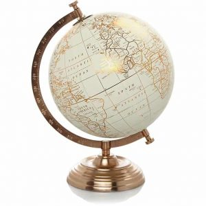 copper effect globe