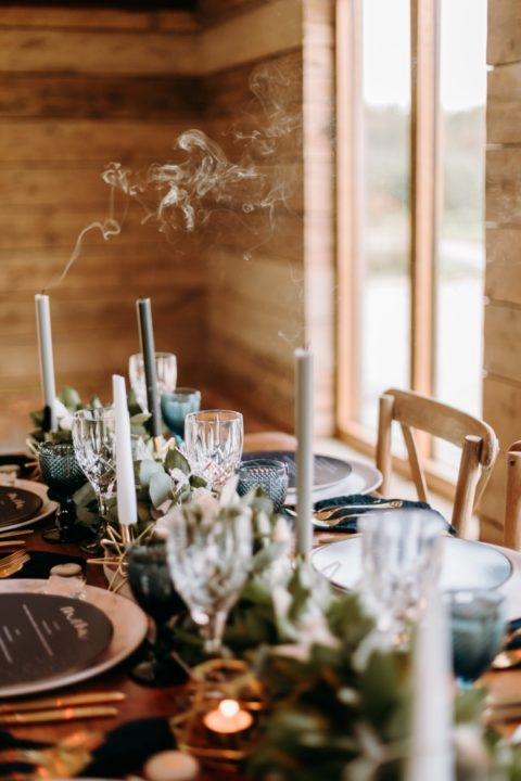 Celestial wedding table