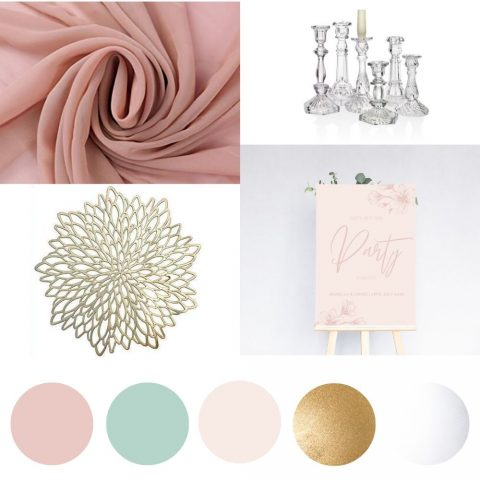 Spring wedding decor hire package-min