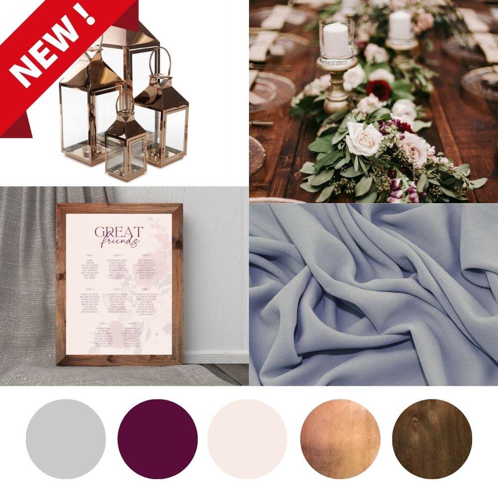 Autumn wedding decor hire package-min